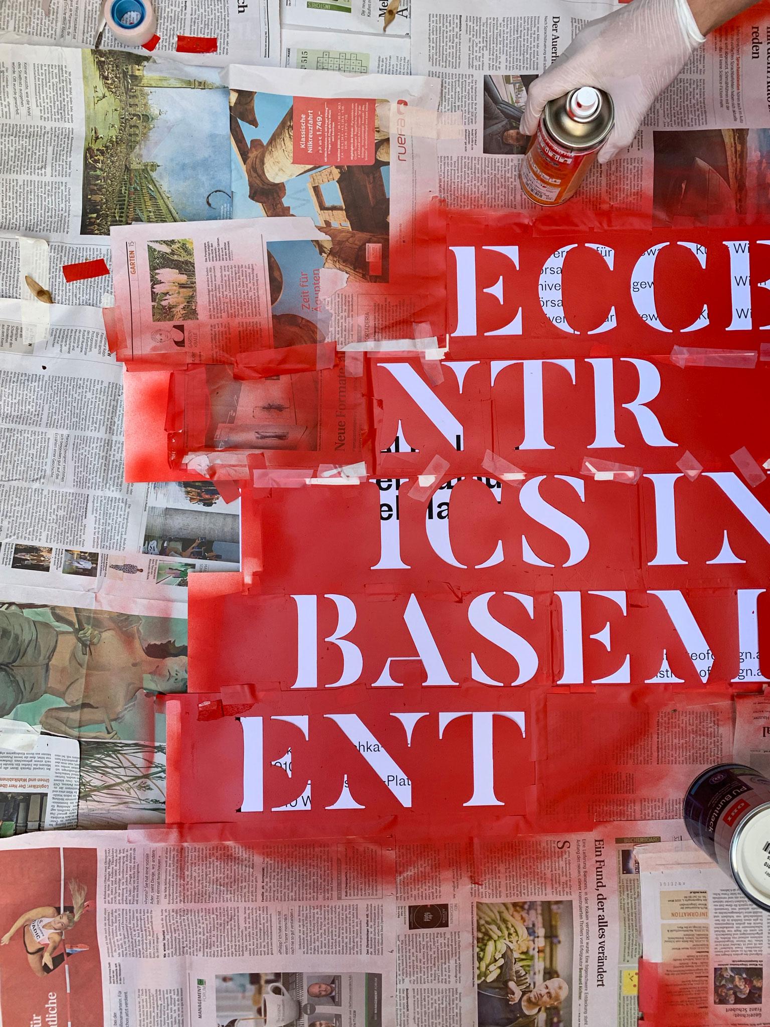 Eccentrics in Basement — Making of